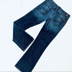 7 For All Mankind bootcut jeans mid wash size 28